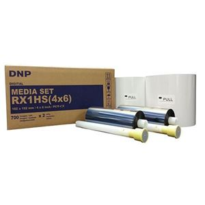 Picture of DNP RX1HS 4x6 Center Perforated Media