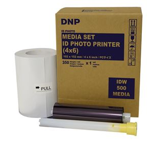 Picture of DNP 4x6 Single Packaged Roll ID Media