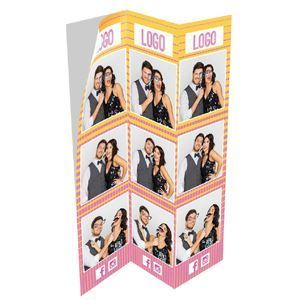 Picture of DNP 6x8 Triple Strip Sticker Media