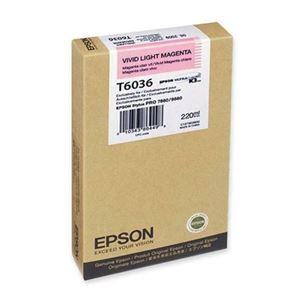 Picture of Epson T603C00 UltraChrome K3 Ink 220ml Light Magenta