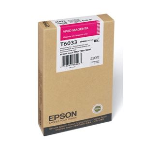 Picture of Epson T603B00 UltraChrome K3 Ink 220ml Magenta
