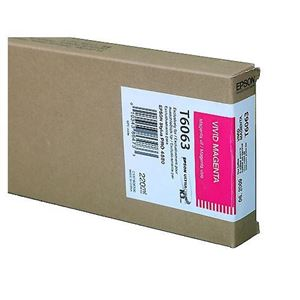 Picture of Epson T606B00 UltraChrome K3 Ink 220ml Magenta