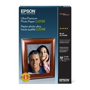 "Picture of Epson Ultra Premium Photo Luster, 13"" x 19"" - 50 sheets"