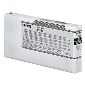 Picture of Epson T913800 UltraChrome HDX Ink, Matte Black