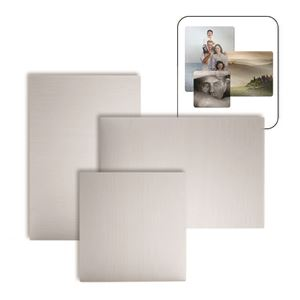 """Picture of ChromaLuxe 38"""" x 58"""" Gloss Clear HD Aluminum Panel"""