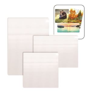 """Picture of ChromaLuxe 9"""" x 21"""" Gloss White HD Aluminum Panel"""