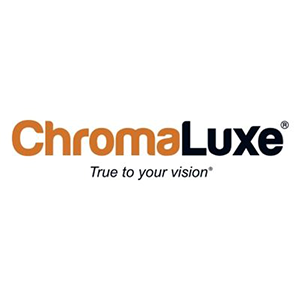 """Picture of ChromaLuxe EXT Extended Life  40"""" x 60"""" Gloss White Aluminum Panel"""