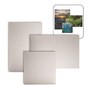 "Picture of ChromaLuxe 10"" x 10"" Semi-Gloss Clear HD Aluminum Panel"