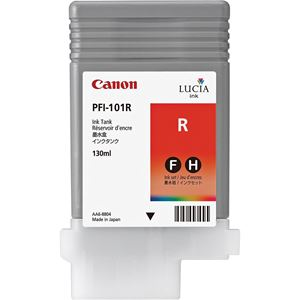 Picture of Canon PFI-101R Ink, 130 ml - Red