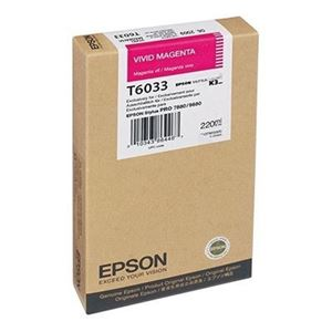 Picture of Epson T603700 UltraChrome K3 Ink 220ml Vivid Magenta