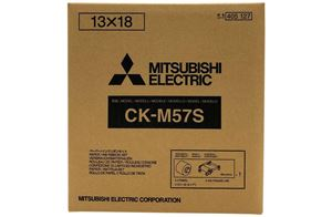 Picture of Mitsubishi 5x7 Print Kit for use with CP-M1A Printer