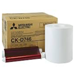 Mitsubishi 4x6 Print Kit for use with CP-D70DW, CP-D707DW and CP-D90DW Printers