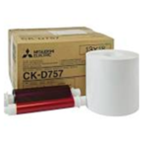 Mitsubishi 5x7 Print Kit for use with CP-D70DW, CP-D707DW, CP-D80DW and CP-D90DW Printers